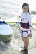 Umikas smile explodes on an island somewhere in the south! Kawashima Umika Swimsuit Gravure043