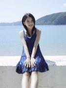 Umikas smile explodes on an island somewhere in the south! Kawashima Umika Swimsuit Gravure154