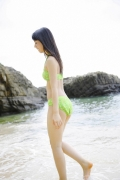 The smile of the ultimate beautiful girls angel explodes in Okinawa for the first time Rina Koike Swimsuit gravure019