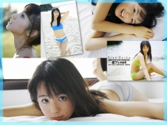 The smile of the ultimate beautiful girls angel explodes in Okinawa for the first time Rina Koike Swimsuit gravure023