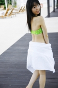The smile of the ultimate beautiful girls angel explodes in Okinawa for the first time Rina Koike Swimsuit gravure024