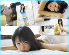 The smile of the ultimate beautiful girls angel explodes in Okinawa for the first time Rina Koike Swimsuit gravure025