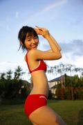 The smile of the ultimate beautiful girls angel explodes in Okinawa for the first time Rina Koike Swimsuit gravure041