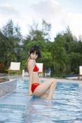 The smile of the ultimate beautiful girls angel explodes in Okinawa for the first time Rina Koike Swimsuit gravure046