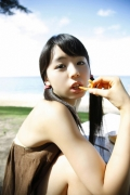 The smile of the ultimate beautiful girls angel explodes in Okinawa for the first time Rina Koike Swimsuit gravure126
