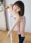 Healthy body that can play the sweet relationship of white skin x pink Risa Sawamura Swimsuit gravure001