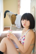 Healthy body that can play the sweet relationship of white skin x pink Risa Sawamura Swimsuit gravure007