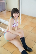 Healthy body that can play the sweet relationship of white skin x pink Risa Sawamura Swimsuit gravure057