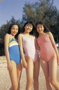 Manami Kurose Ayaka Ikezawa Yuko Masumoto Swimsuit Gravure030