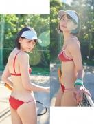 Minami Yamada Too bright blue sky smile004