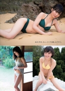 Chika Yamane gravure swimsuit image Rookie who is also paying attention to the corner world is gravure010