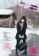 Hoshina Mizukis first snow swimsuit001