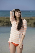 A miracle 19year-old Yua Shinkawa in a precious bikini033