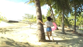 Minami Yamada Capture Swimsuit Gravure Second DVD Minamis Youth Straight PV Beach002