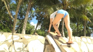 Minami Yamada Capture Swimsuit Gravure Second DVD Minamis Youth Straight PV Beach010