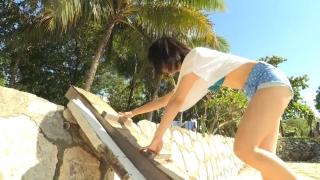 Minami Yamada Capture Swimsuit Gravure Second DVD Minamis Youth Straight PV Beach011