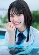 Hinata Hiyori Hinatazaka46 Lingerie swimsuit cut for the first time010
