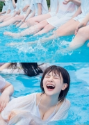 Hinata Hiyori Hinatazaka46 Lingerie swimsuit cut for the first time015