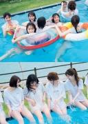Hinata Hiyori Hinatazaka46 Lingerie swimsuit cut for the first time007