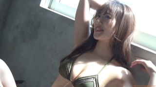 Kazusa Okuyama gravure swimsuit image Too beautiful body fascinated by seasonal actresses067