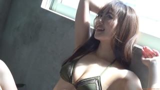 Kazusa Okuyama gravure swimsuit image Too beautiful body fascinated by seasonal actresses068