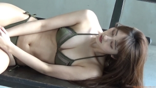 Kazusa Okuyama gravure swimsuit image Too beautiful body fascinated by seasonal actresses076
