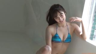 Kazusa Okuyama gravure swimsuit image Too beautiful body fascinated by seasonal actresses085