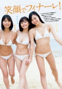 Delivering plenty of last Okinawa location with 6 people Miss Magazine 2019 Smile and finale gravure swimsuit image002