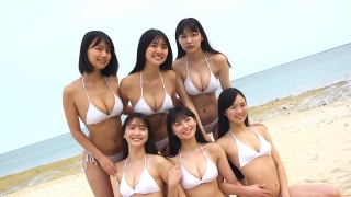 Delivering plenty of last Okinawa location with 6 people Miss Magazine 2019 Smile and finale gravure swimsuit image022