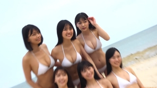 Delivering plenty of last Okinawa location with 6 people Miss Magazine 2019 Smile and finale gravure swimsuit image023