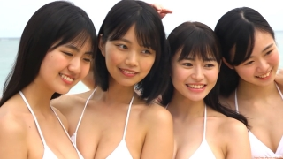 Delivering plenty of last Okinawa location with 6 people Miss Magazine 2019 Smile and finale gravure swimsuit image032