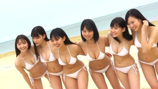 Delivering plenty of last Okinawa location with 6 people Miss Magazine 2019 Smile and finale gravure swimsuit image038