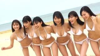 Delivering plenty of last Okinawa location with 6 people Miss Magazine 2019 Smile and finale gravure swimsuit image039
