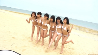 Delivering plenty of last Okinawa location with 6 people Miss Magazine 2019 Smile and finale gravure swimsuit image041