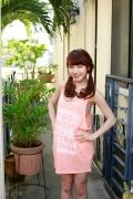 Ayumi Ishida 17 years old Morning Musume 14 Swimsuit with emerald green sea in the background003