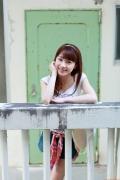 Ayumi Ishida 17 years old Morning Musume 14 Swimsuit with emerald green sea in the background004