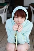 Ayumi Ishida 17 years old Morning Musume 14 Swimsuit with emerald green sea in the background011