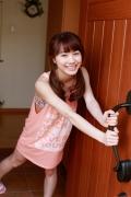 Ayumi Ishida 17 years old Morning Musume 14 Swimsuit with emerald green sea in the background013