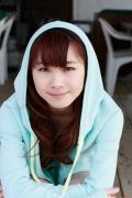 Ayumi Ishida 17 years old Morning Musume 14 Swimsuit with emerald green sea in the background012