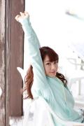Ayumi Ishida 17 years old Morning Musume 14 Swimsuit with emerald green sea in the background019