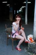 Ayumi Ishida 17 years old Morning Musume 14 Swimsuit with emerald green sea in the background014