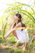 Ayumi Ishida 17 years old Morning Musume 14 Swimsuit with emerald green sea in the background018