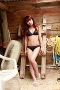 Ayumi Ishida 17 years old Morning Musume 14 Swimsuit with emerald green sea in the background027