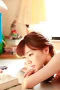 Ayumi Ishida 17 years old Morning Musume 14 Swimsuit with emerald green sea in the background038