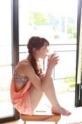 Ayumi Ishida 17 years old Morning Musume 14 Swimsuit with emerald green sea in the background052