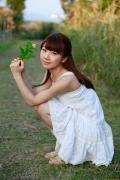 Ayumi Ishida 17 years old Morning Musume 14 Swimsuit with emerald green sea in the background057