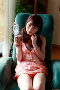 Ayumi Ishida 17 years old Morning Musume 14 Swimsuit with emerald green sea in the background063