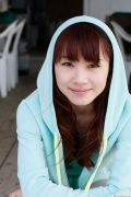 Ayumi Ishida 17 years old Morning Musume 14 Swimsuit with emerald green sea in the background072