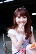 Ayumi Ishida 17 years old Morning Musume 14 Swimsuit with emerald green sea in the background081