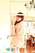 Ayumi Ishida 17 years old Morning Musume 14 Swimsuit with emerald green sea in the background082